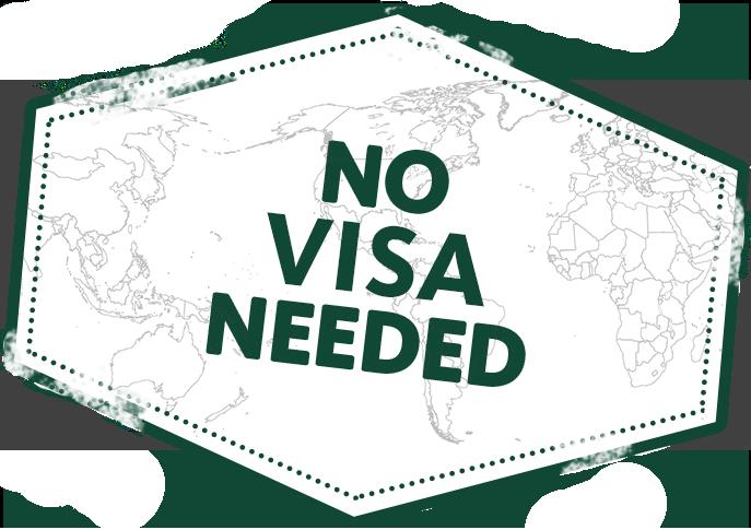 No Visa Needed logo